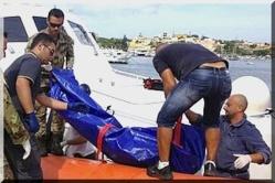 Naufrage d'un bateau de clandestins à Lampedusa : plus de 130 morts, deuil national en Italie