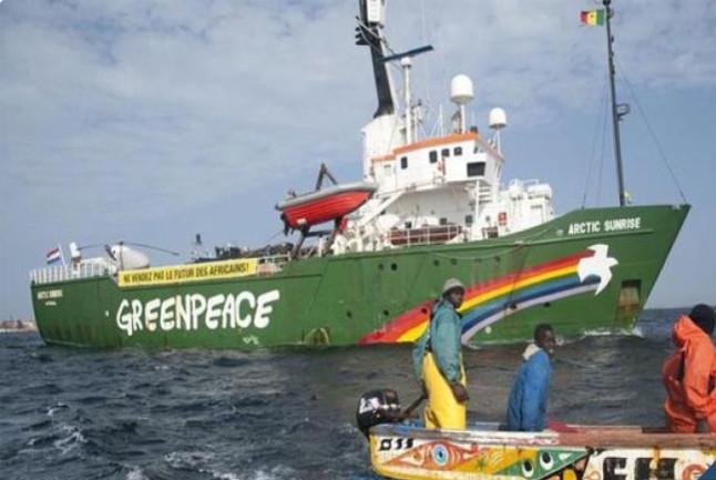 Pillage des eaux en Afrique de l'Ouest : Greenpeace intercepte un navire-citerne transportant de l'huile de poisson