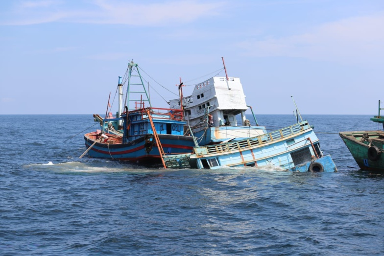Un bateau de pêche portugais a coulé en face des côtes mauritaniennes