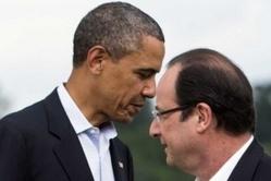 """NSA : Hollande fait part de sa """"profonde réprobation"""" à Obama"""