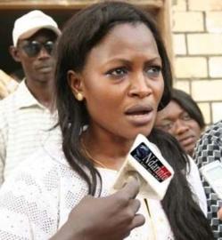 Aminata Gueye, député de Saint-Louis,  « rassurée » par le discours d'Aminata Touré.