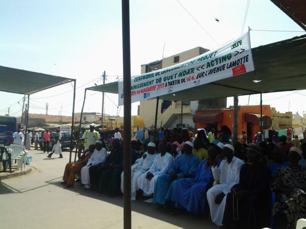 Direct Photos: La cérémonie de lancement du projet d'assainissement de Guet Ndar.