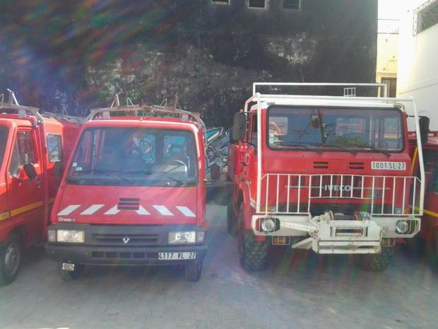 Coopérations décentralisée: dons de materiels de l'Eure aux Sapeurs Pompiers de Saint-Louis. Photos & Vidéo
