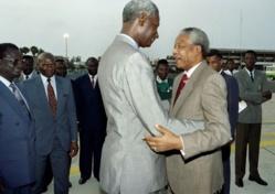 Mort de NELSON MANDELA : la disparation d'un héros sénégalais ?