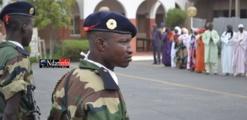 Saint-Louis - Enterrement d'Ousmane Fall: hommages à un soldat d'honneur.