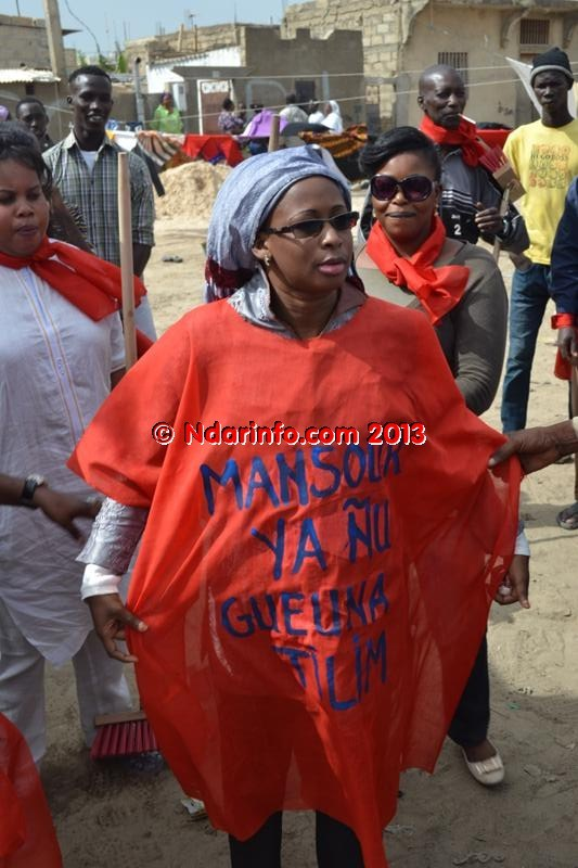 Insolite : l'épouse de Cheikh Bamba Dièye s'attaque à Mansour Faye (photos)