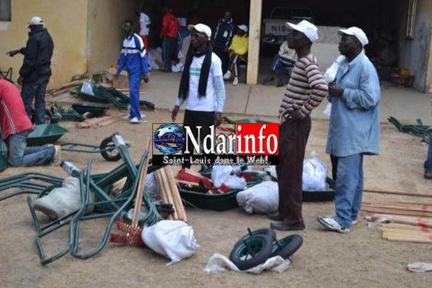 Opération Ndar Sett Wecc : Pour intimider la Mairie, Mansour Faye sort les grands moyens (photos)