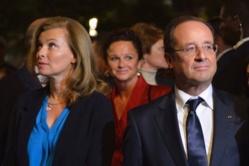 """François Hollande : fin de """"vie commune"""" avec Valérie Trierweiler"""