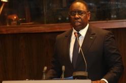 """Macky Sall: """"Le Sénégal n'a pas le droit de décevoir"""""""