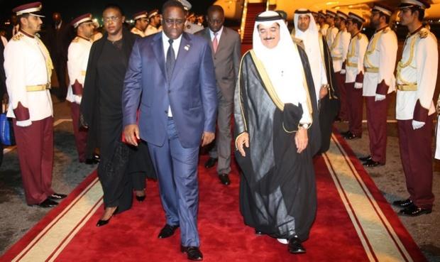 Arrivée du Président Macky Sall au Qatar.
