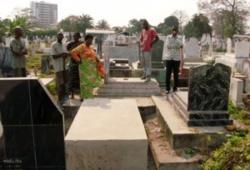 La sonnerie d'un téléphone dans un cercueil crée la panique au cimetière de Kintambo