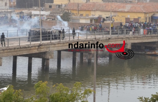 Affrontements à Guet Ndar : 3 personnes arrêtées et 2 blessés graves dont un garçon de 11 ans.