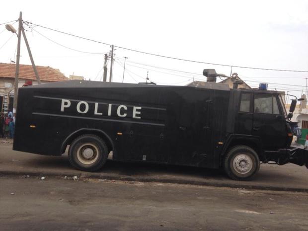 Saint-Louis: Un camion dragon pointé sur l'entrée du Pont Faidherbe (Photos)