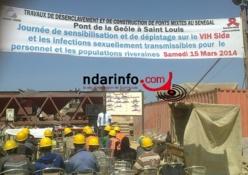 Saint-Louis : Henan Chine  en croisade contre le VIH Sida et les IST.