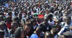 Manque de Profs au lycée de Ngallèle : très mécontents, les élèves bloquent la RN2.