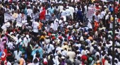 La population du Sénégal estimée à 12.873.601 habitants.
