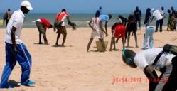 ENVIRONNEMENT: Opération « Zéro sachets »: la plage de l'hydrobase nettoyée par des étudiants de l'UGB.