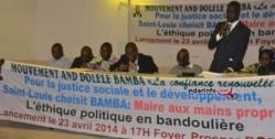 Saint-Louis -Locales 2014: le mouvement « Ande Dolèle Cheikh Bamba Dièye » va défendre le bilan du maire.