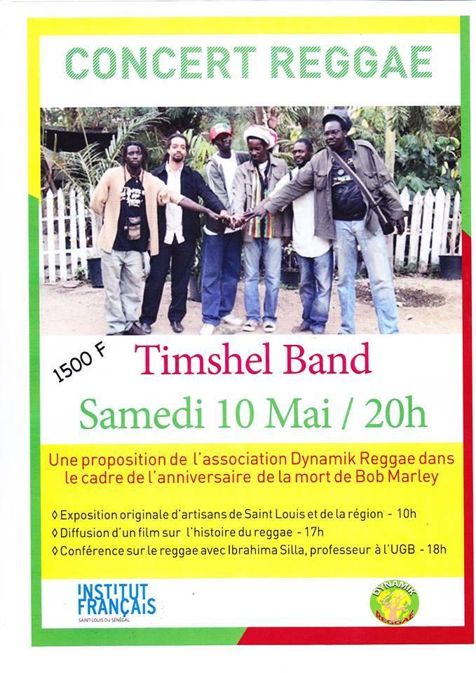 Saint Louis: TIMSHEL BAND en live à l'Institut francais, ce 10 mai.
