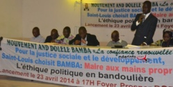 """POLITIQUE : le mouvement  """"Ande Dolele Bamba"""" planche sur le  profil du maire de Saint-Louis."""