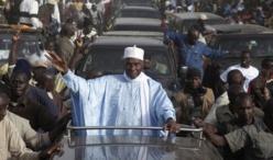 POLITIQUE : Abdoulaye WADE à Saint-Louis, aujourd'hui.