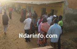 SAINT-LOUIS : Démarrage normale du vote à Bango et Goxu Mbacc