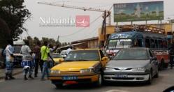 ACCIDENT : deux véhicules se heurtent à l'entrée du pont faidherbe.
