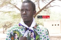 Théophile NDIG POUYE, responsables des Jecistes de l'UGB