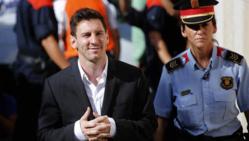La justice espagnole refuse de blanchir Messi