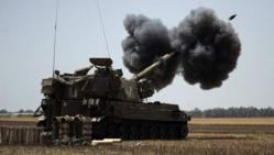 Israël a eu quatre fois plus recours à l'artillerie qu'en 2009