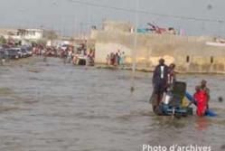 Des sinistres occasionnés par des pluies diluviennes à Ross- Béthio