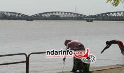 NOYADE A SAINT-LOUIS : un corps a été retrouvé, ce matin. L'homme qui s'est jeté dans le fleuve était malade.