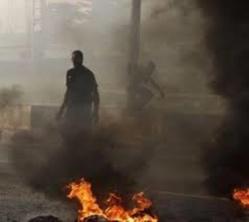 Les jeunes de Ourossogui brûlent des pneus pour exiger la libération de onze d'entre eux
