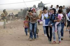 Près de 100.000 Kurdes de Syrie ont fui en Turquie