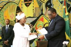 PHOTOS: Remise du rapport du Cese au Président Macky SALL