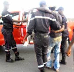Image de l'accident à l'arrivée des sapeurs pompiers à 18H34
