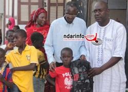 ACTION SOCIALE : le Conseil de quartier de Léona/HLM au chevet des élèves démunis (vidéo)
