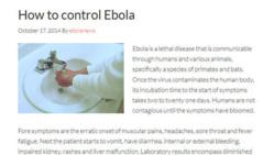 """""""Ebola.com"""" vendu pour plus de 150.000 euros"""