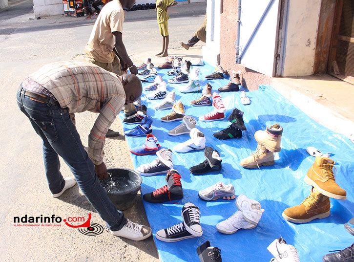 El Hadji Ndour dit « Cut », vendeur de chaussures : « le complexe et l'avancement ne riment pas ».