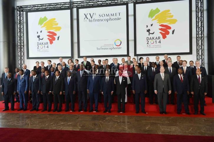 XVe Sommet de la francophonie Dakar: ARRIVÉE DES CHEFS ÉTATS en Photos.
