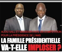 Aliou Sall et Mansour Faye en compétition pour la présidence de l'Ams  La famille Faye-Sall va-t-elle imploser ?