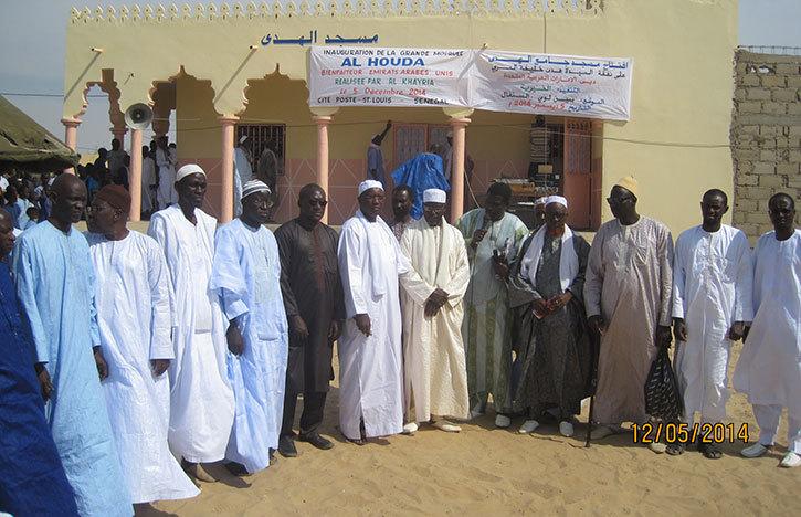 Cité Poste de Boudiouck: Ouverture de la Grande mosquée « AL HOUDA »