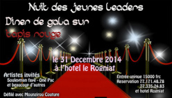 Saint-Louis : Première édition de « La nuit des jeunes leaders », ce 31 décembre.