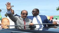 Macky SALL à Nouakchott, ce jeudi.