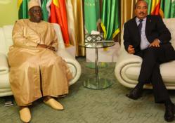 """Macky SALL au Sommet de Nouakchott: """" la paix et la sécurité sont les conditions préalables à la stabilité des Etats""""."""