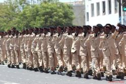 Prytanée Militaire de Saint-Louis: Cérémonie de remise des attributs et de présentation du drapeau aux nouveaux enfants de troupe