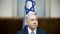 Le Premier ministre israélien Benjamin Netanyahu le 4 janvier 2015 à Jérusalem. © AFP