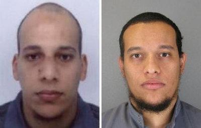 Saïd Kouachi et Chérif Kouachi : photo diffusée, Hamyd Mourad s'est rendu (Reims, Charleville)