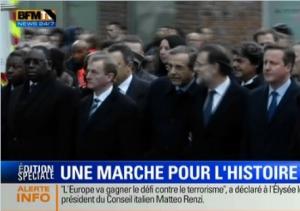 Attentats contre Charlie Hebdo, Macky Sall En Marche avec Ses homologues, Regardez!