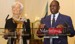 ÉCONOMIE: le FMI va travailler à la réussite du Plan Sénégal Émergent, selon Christine Lagarde